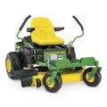 John Deere Z345R CARB 22-HP V-twin Dual Hydrostatic 42-in Zero-turn lawn mower with Mulching Capability (Kit Sold Separately) CARB