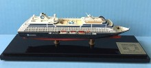AZAMARA JOURNEY cruise ship model in 1:900 scale, Display Series