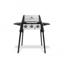 Broil King Porta-Chef Black/Stainless steel 18000-BTU 430-sq in Portable Gas Grill