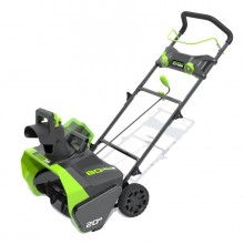Greenworks 80-Volt 20-in Single-stage Cordless Electric Snow Blower (Battery Included)