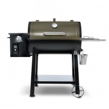 Pit Boss Pellet 448.5-sq in Two-tone Black And Bronze Pellet Grill