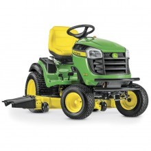 John Deere E180 25-HP V-twin Side By Side Hydrostatic 54-in Riding Lawn Mower with Mulching Capability (Kit Sold Separately)