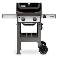 Weber Spirit II Black 2-Burner Liquid Propane Gas Grill