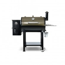 Pit Boss 820-sq in Two-tone copper and black high temperature powder coat Pellet Grill