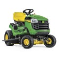 John Deere E110 19-HP Side By Side Hydrostatic 42-in Riding Lawn Mower with Mulching Capability (Kit Sold Separately)