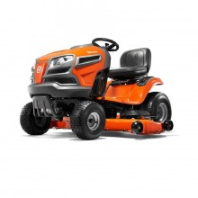 Husqvarna YTH24V54 24-HP V-twin Hydrostatic 54-in Riding Lawn Mower with Mulching Capability (Kit Sold Separately)