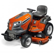 Husqvarna LGT26K54 26-HP V-twin Hydrostatic 54-in Garden Tractor with Mulching Capability (Kit Sold Separately)