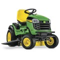 John Deere E170 25-HP V-twin Side By Side Hydrostatic 48-in Riding Lawn Mower with Mulching Capability (Kit Sold Separately)