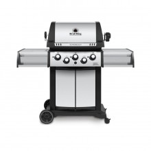Broil King Sovereign 90 Stainless Steel/Black 3-Burner (44,000 BTU) Natural Gas Grill with Side and Rotisserie Burner