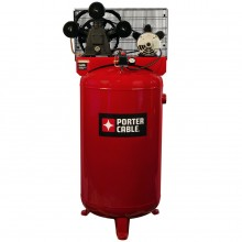 PORTER-CABLE Porter Cable 80-Gallon Electric Vertical Standard (71-Decibel Or Above) Air Compressor