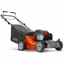 Husqvarna LC221A 163-cc 21-in Self-propelled Gas Lawn Mower with Briggs & Stratton Engine