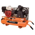 Industrial Air 9-Gallon Portable Gas Horizontal Standard (71-Decibel Or Above) Air Compressor