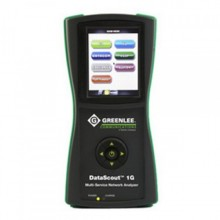 Greenlee DS1G-PDH2 DataScout 1GTM Analyzer with IPTV VOIP WIFI SW, T3/E3